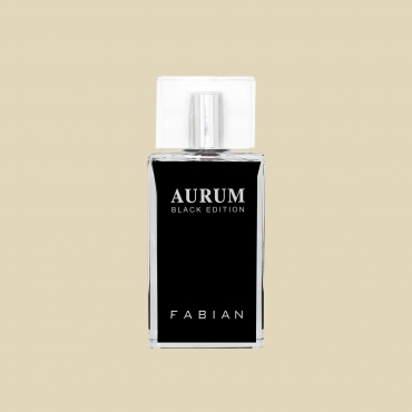 Fabian Aurum Black Edition Edp 80ml Bottle Web