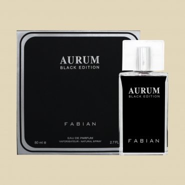 Fabian Aurum Black Edition Edp 80ml Bottle Web 1