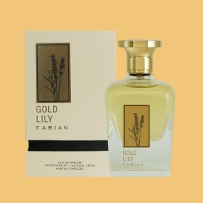 Fabian Gold Lily Edp 100ml Bottle Box Official