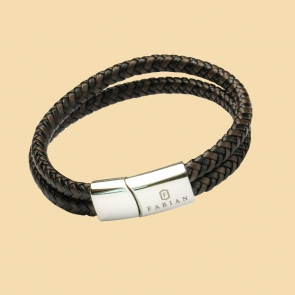 Coffee Black Double Layered Bracelet