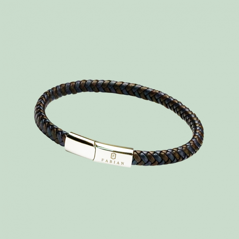 Coffee Blue Bracelet