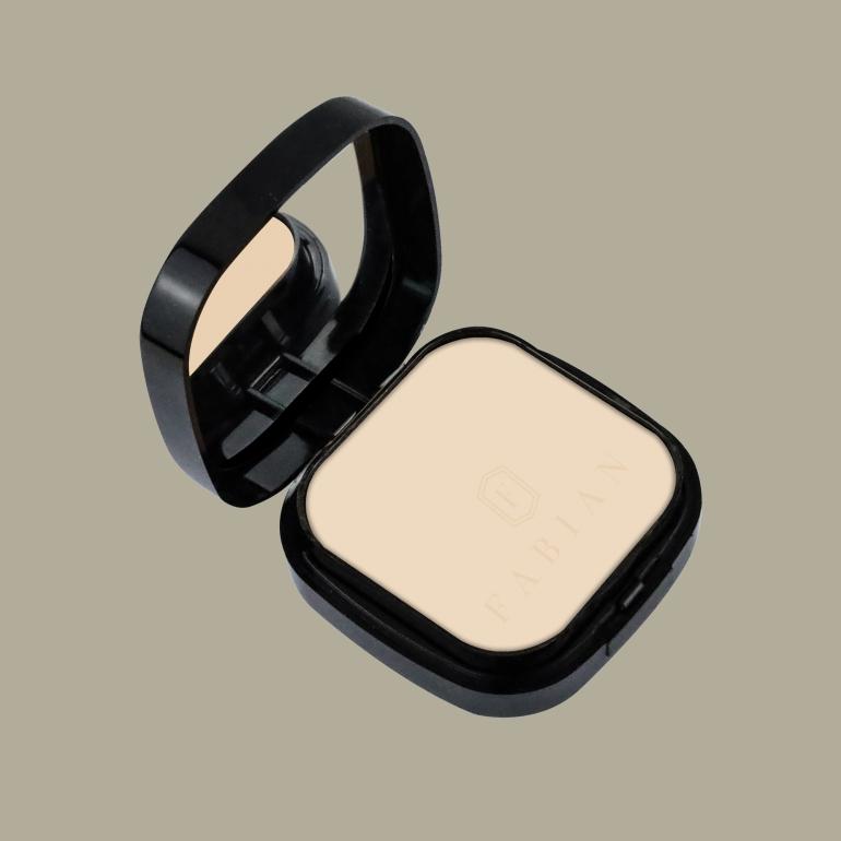 Matte Finish Compact Powder 02 Ivory