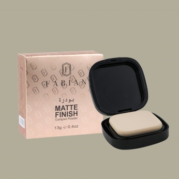 Matte Finish Compact Powder Inside