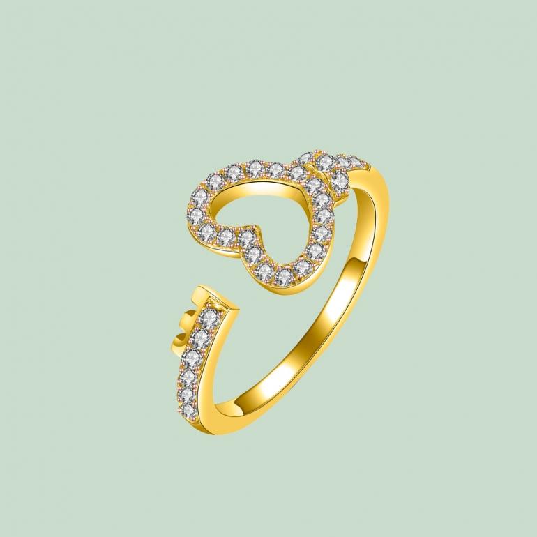 Happy Hearts Ring Flj Rit1630 7 R
