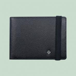 Fabian Leather Wallet Black - FMW-SLG22-B 1