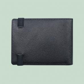 Fabian Leather Wallet Black - FMW-SLG22-B 3