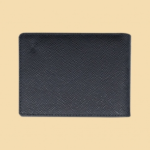 Fabian Leather Wallet Black - FMW-SLG29-B 2