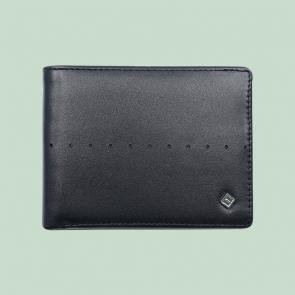 Fabian Leather Wallet Black - FMW-SLG7-B 1