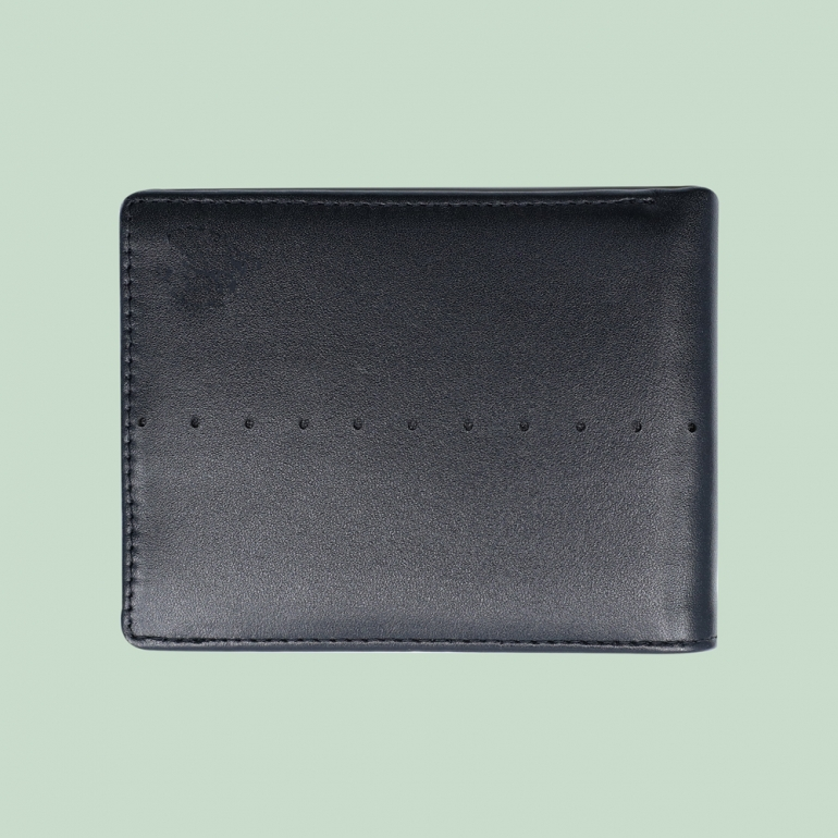 Fabian Leather Wallet Black - FMW-SLG7-B 2