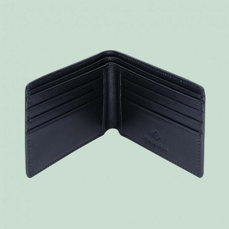 Fabian Leather Wallet Black - FMW-SLG7-B 3