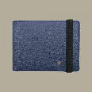 Fabian Leather Wallet Blue - FMW-SLG23-BL 1