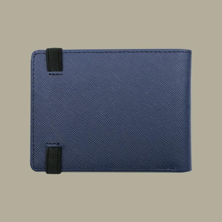 Fabian Leather Wallet Blue - FMW-SLG23-BL 2