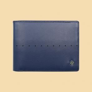 Fabian Leather Wallet Blue - FMW-SLG8-BL 1