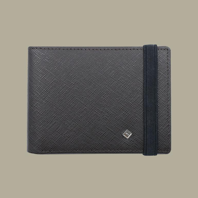 Fabian Leather Wallet Brown - FMW-SLG24-BR 1