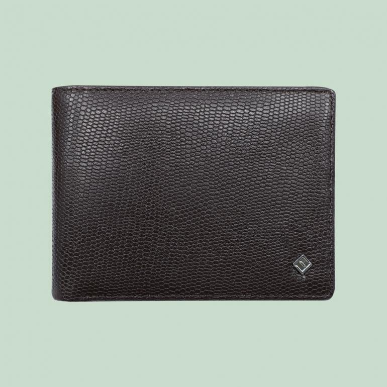 Fabian Leather Wallet Brown - FMW-SLG6-BR 1