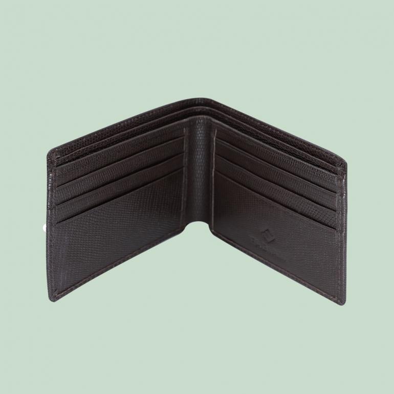 Fabian Leather Wallet Brown - FMW-SLG6-BR 3
