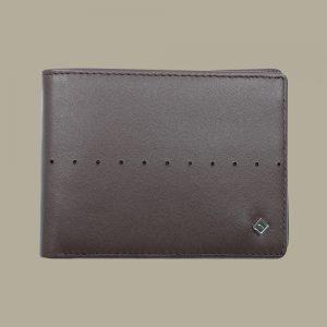 Fabian Leather Wallet Brown - FMW-SLG9-BR 1