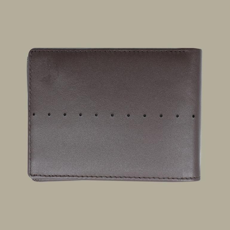 Fabian Leather Wallet Brown - FMW-SLG9-BR 2