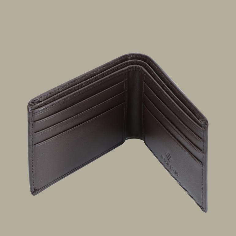 Fabian Leather Wallet Brown - FMW-SLG9-BR 3