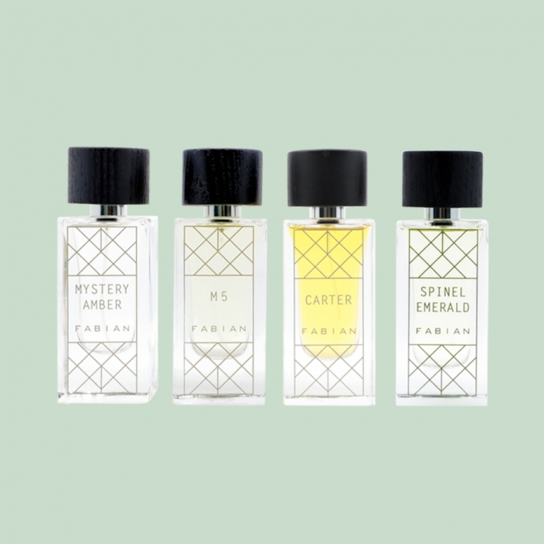 Fabian My Scents Collection 4pc Gift Set 50ml 2
