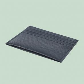 Fabian leather black blue card holder fmwc slg18 bnbl back