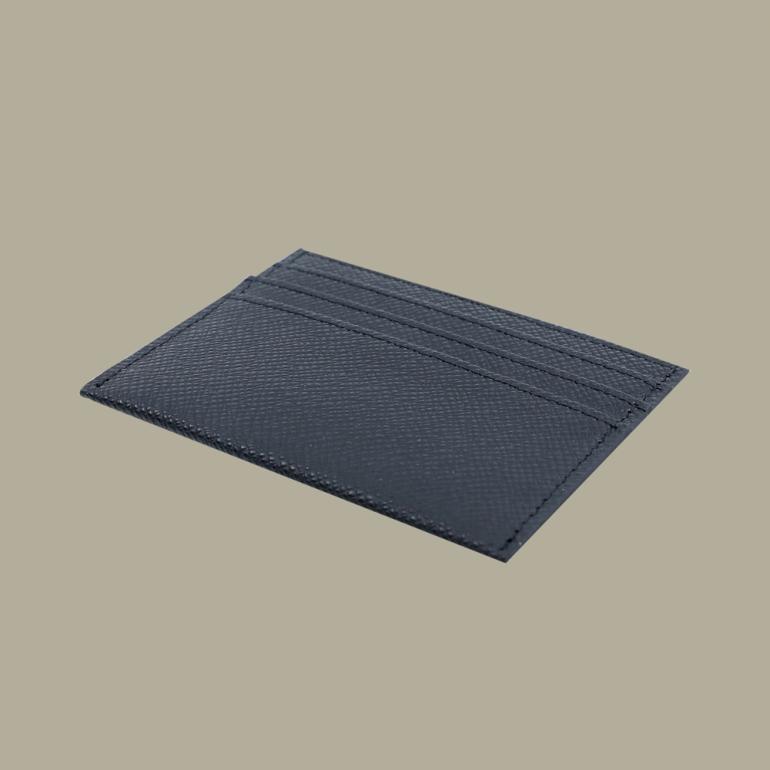 Fabian leather black card holder fmwc slg13 b back