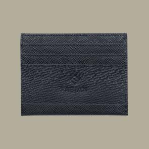 Fabian leather black card holder fmwc slg13 b front