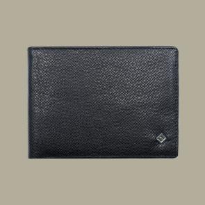 Fabian leather black wallet fmw slg4 b front