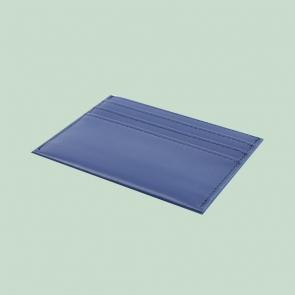 Fabian leather blue card holder fmwc slg39 bl back