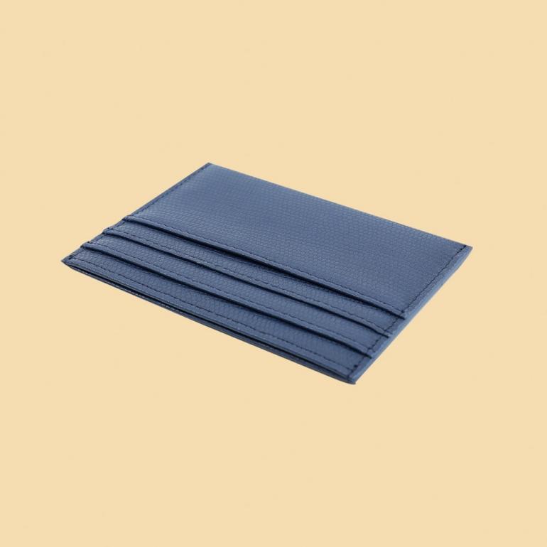 Fabian leather brown blue card holder fmwc slg19 brnbl back