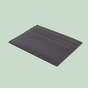 Fabian leather brown card holder fmwc slg40 br back