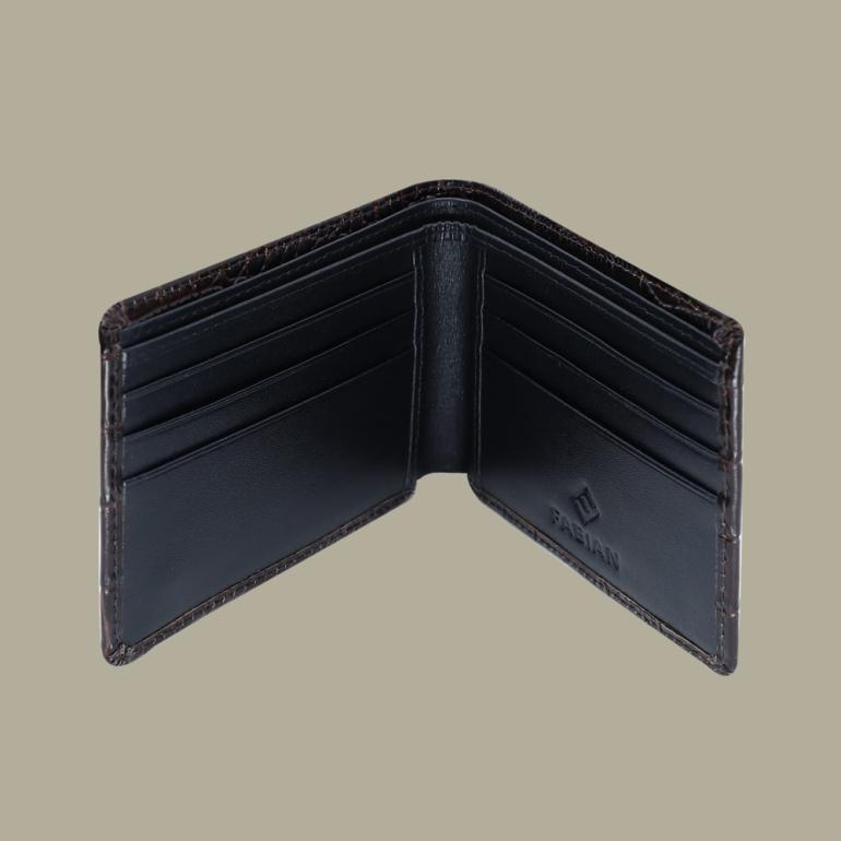 Fabian leather brown wallet fmw slg28 br inside
