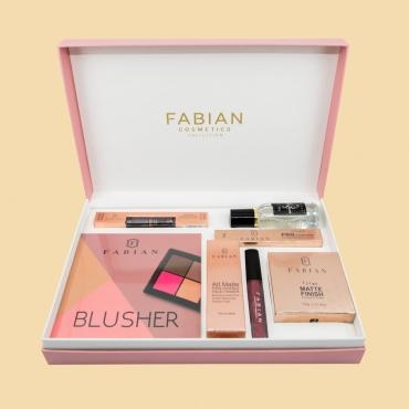 Fabian Cosmetics Collection 7 pcs Dark Pink