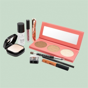 Fabian Cosmetics Collection 9 pcs Red