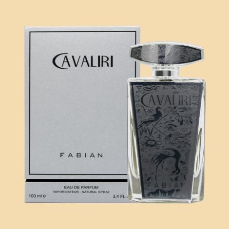 Fabian Cavaliri Silver EDP 100ml Bottle With Box
