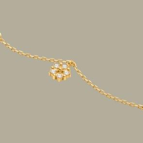 Fabian Flower Design Gold Bracelet-FLJ-CG20B1931S-BR.G 02