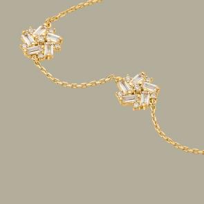 Fabian Flower Design Gold Bracelet-FLJ-DM18B1965S-BR.G 02
